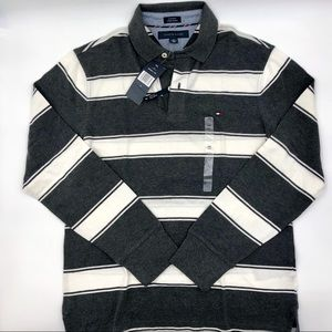 Tommy Hilfiger Mens Custom Fit L/S Polo Size: M